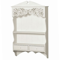 Chantilly White Shelves: French Bedroom Company
