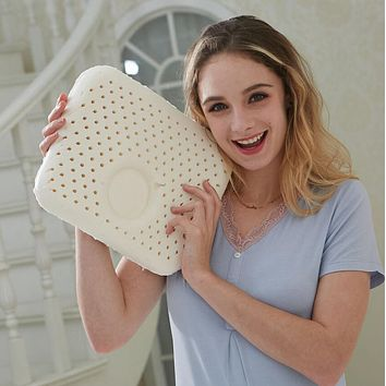 Natural Latex Pillow Baby Shaping Pillow Natural Children Latex Pillow Kc001l