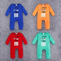 M&M Baby Rompers