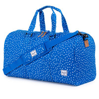 Herschel Supply Co.: Ravine Duffle Bag - Cobalt Polka Dot