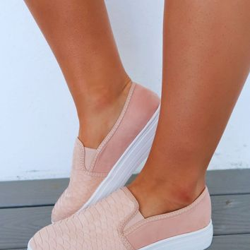 Stepping Into Spring Sneakers: Blush
