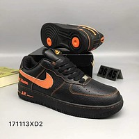 Nike Fashion Air Force shoes sneakers F-CSXY black