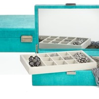 Largo Jewelry Box - Aquamarine | Mothers-day | Z Gallerie