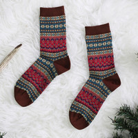 Mountain Pine Socks
