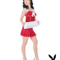 Playboy Classic Cigarette Girl Adult Womens Costume in Costumes Seasonal Costumes Valentine's Costumes