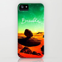 Breathe - for iphone iPhone & iPod Case by Simone Morana Cyla