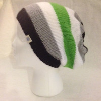Pride Beanie - agender-FREE SHIPPING for month of May (U.S. only)
