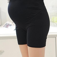New Maternity Panties Pregnancy Safety Short Pants Pregnant Underpants Underwear Shorts Women Intimates Knickers Free Size