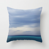 room with a view - day 6 Throw Pillow by findsFUNDSTUECKE