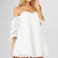 Haddie Dress - White