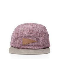 Marled Colorblock Five-Panel Hat