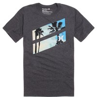 Hurley Palm Slash T-Shirt - Mens Tee - Black