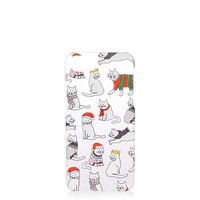 Christmas Cat iPhone 6/7 Case | Topshop