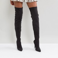 Truffle Collection Stiletto Thigh High Boot at asos.com