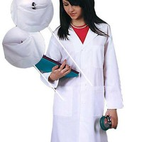 Buy Adar Uniform 40 inch with Midriff Back SuperTwill Lab Coat for $22.45