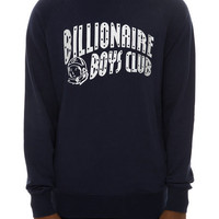 The Arch Crewneck in Navy