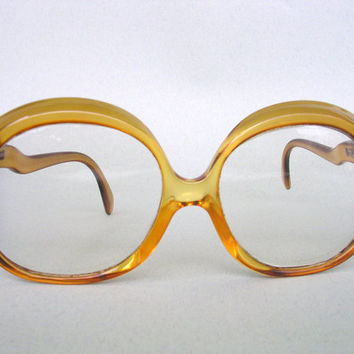 Sunglasses Eyeglasses - Retro Oversized - Yves Chantal Marwitz Vintage - 70s