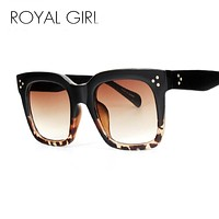 ROYAL GIRL 2017 NEW Brand Sunglasses for women Vintage Retro Sun glasses Acetate Glasses ss295