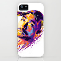 2pac: Dead Rappers Serie iPhone & iPod Case by Largetosti