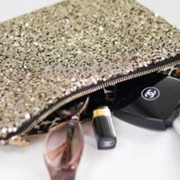 Glam Sequined Clutch - 3 Colors