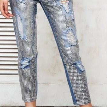 Tahlia Ripped Chic Jeans