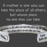 A mother is | Gift for Mom