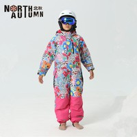Ski Suits For Girls Snowboard Set Kids Russian Winter Girl's Sport Suit Thermal Waterproof Ski Jumpsuit Boys Snowsuit For Boys