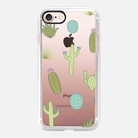 GREEN DESSERT CACTUS CACTI by Harvest Paper Co. iPhone 7 Case by Harvest Paper Co.   Casetify