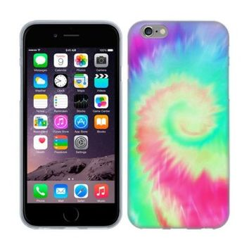 Head Case Designs Helicoid Tie Dye Soft Gel Back Case Cover for Apple iPhone 6 4.7