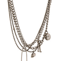Alexander McQueen Necklace in Silver | FWRD