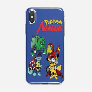 Pokemon Anime Cartoon All 8 Gym Badges 2 iPhone X Case