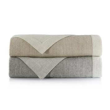 Angelo Reversible Blankets by Peacock Alley