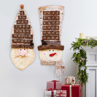 New 2016 Christmas Ornaments For Home 87cm Christmas Advent Calendar Christmas Decorations Supplies Christmas Gifts For Children