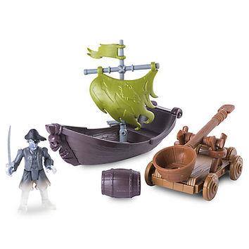 Pirates of the Caribbean: Dead Men Tell No Tales - Ghost Pirate Hunter Action Figure Play Set   Disney Store
