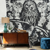Magical Thinking Dark Owl Tapestry - Urban Outfitters