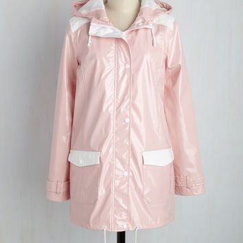 The Rains of the Operation Jacket in Carnation | Mod Retro Vintage Jackets | ModCloth.com