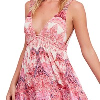 Free People Me to You Print Minidress | Nordstrom