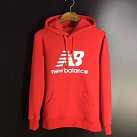 New Balance Woman Men Casual Top Sweater Pullover Hoodie