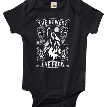 Baby Bodysuit - The Newest Member of the Pack