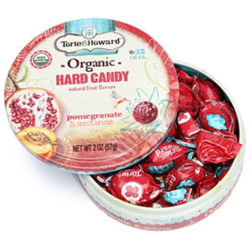 Torie and Howard Hard Candy Tins - Pomegranate & Nectarine: 8-Piece Bo