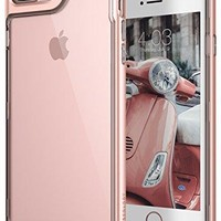 iPhone 7 Plus Case, Caseology [Skyfall Series] Transparent Clear Slim Scratch Resistant Protective Cover Air Space Technology [Rose Gold] for Apple iPhone 7 Plus (2016)
