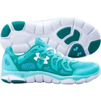 Under Armour Women's Micro G Engage Running Shoe - Teal/White | DICK'S Sporting Goods