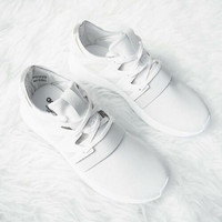 """Trending """"Adidas"""" Women Running Sport Casual Shoes Sneakers White"""