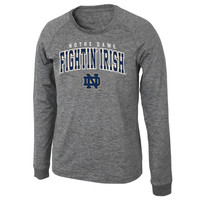 Notre Dame Fighting Irish Slate Long Sleeve T-Shirt – Heather Gray