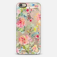 Clear Floral Abstract iPhone 6 case by Pineapple Bay Studio | Casetify
