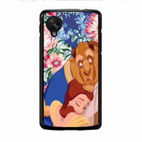 Beauty And The Beast Floral Vintage Nexus 5 Case