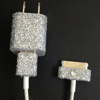 Glitter Charger for iPhone 4 4S