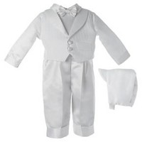 Baby Boys' Small World' Long Pant Set with Embroidered Vest - White : Target