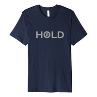 Shirt for Crypto Currency Traders - HOLD