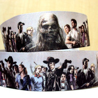 Ribbon ID lanyard   The Walking Dead Graphic by LizziesRightBrain